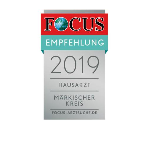 FCGA Regiosiegel 2019 Hausarzt Märkischer Kreis